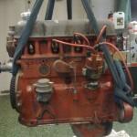 B20 motor från vinden.  Den hade stått där länge och samlat damm... som att den visste...