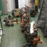 Efter att ha flängt och farit land och rike runt, fann jag mina motorer till sist.