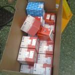 ... tillsammans med en låda lager och 16 st splitter nya kolvar från Mahle.