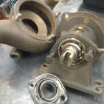 ... konstruktionen med sitt mässinghjul, kullager, zimmerrings-tätning samt ...