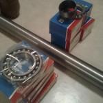 I änden monterar jag ett kompletterande spårkullager för att ta upp axialkraften från det att jag trampar ner kopplingen.