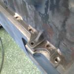 Cylinderblocken blir alltså skruvade ovanifrån ner i vevhuset.