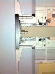 Så här ser Svänghjulsnav, Svänghjul, Spännelement, Lagring och lite till ut i CADen.