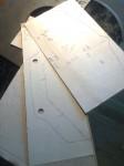 Som jag beskrivit tidigare... Genom att först rita pappmallar på rutat papper, har jag kunnat överföra måtten till Caden, så jag därefter kunnat beställa skurna plåtar hos Kils Verkstads AB. …