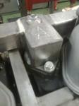 Lite slipning tarvades också, och så märkning för att i manualen kunna ange vilken ordning alla skruvar skall dras.