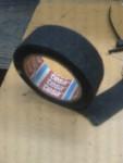 ... så har jag fått tag på en attans häftig tygtejp på Tools. Tesa PET-tygtejp.