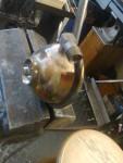 Lödning av en vinklad nippel med silverlod.