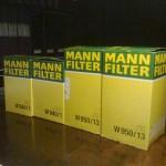 Efter idogt letande, läsande av tester och eget experimenterande har jag bestämt mig för två typer av MANN-filter. Jag köper dylika hos BDS.