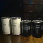 Jag ämnar använda W940/1 filtret som tryckfilter. (Motsvarar Fram HP1) samt W950/13 som returfilter (bla Volvo lastbil)
