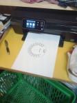 I CAD-en  har jag ritat nya instrumenttavlor och skrivit ut på fotoprintern.