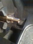 …svarvade pillimojer bildar rörsystemet kring den elektriska pumpen.