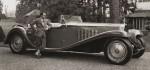 Men den här då… Bugatti Royal. Den största bilen från den tiden (eller alla tider, vad vet jag) Jämför hjulen med mannen.