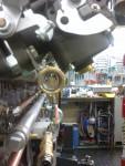 Här ser vi dem monterade på förgasarna.