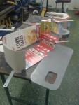 Jag sparar på allt större än ett myggskinn, så Corn Flakes-förpackningar kom väl till pass.
