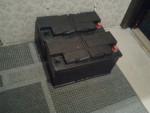 Titta här..! J Två stycken 96Ampers spraknya Tudorbatterier som samlar damm i min hall. Måste alltså fundera på att bygga batterihylla.