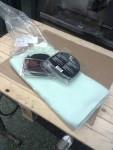 För jobbet ämnar jag bruka en värmebeständig filt Isotherm 800, samt Biltema avgasbandage.