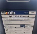 2016-10-21  Jag har jag bestämt mig för olja till kommande uppstart. Q8 T750. Den ska enligt uppgift vara utmärkt mot bla kamaxelslitage. Köp den på SWEDOL eftersom priset där är långt bättre än i Q8s korvkiosker. Läs Tekniksidan, Punkt 30 Gammal motor – Ny olja.