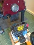 Detta mekande visar att den uppskruvade elmotorn måste plockas ner.