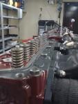 Locket momentdraget och det är dags för konstruktören att beskåda 32 ventilfjädrar på rad…